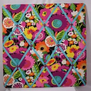 Vera Bradley VA VA BLOOM Photo Ribbon Board
